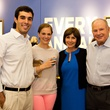 Friends for Life Houston anniversary party June 2013 Diego Fernandez, Mallory Moore, Laura Moore, Don Sanders