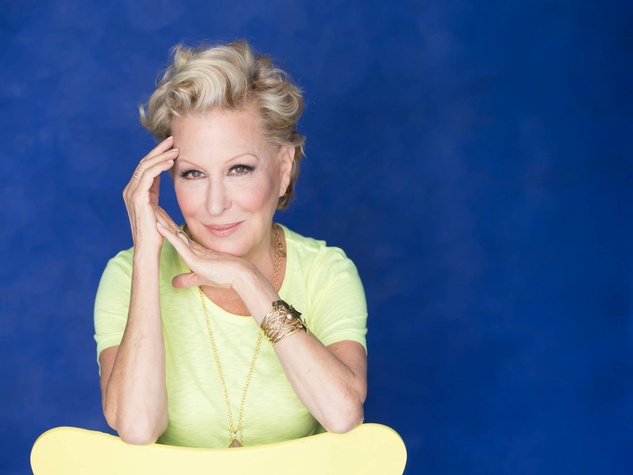 Bette Midler glamour shot November 2014