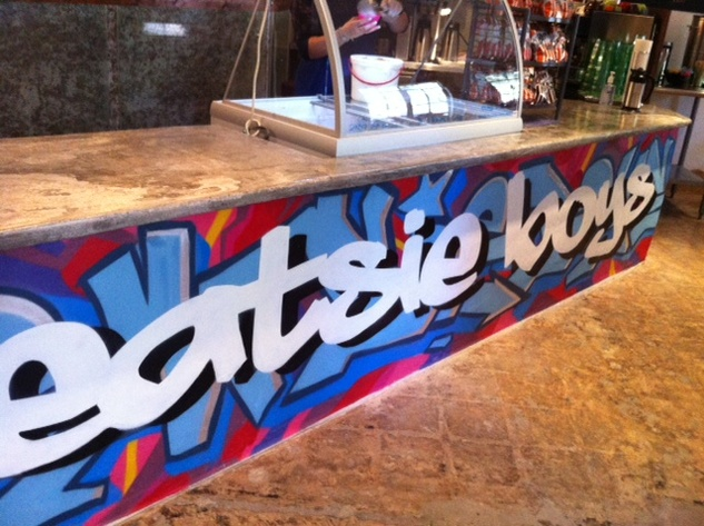 Eatsie Boys Cafe counter