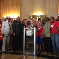 Annise Parker Equal Rights Ordinance press conference July 3 2014