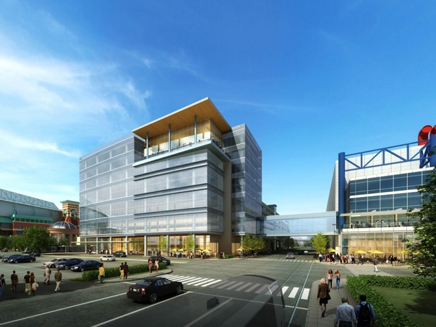 Greater Houston Partnership Building rendering August 2014