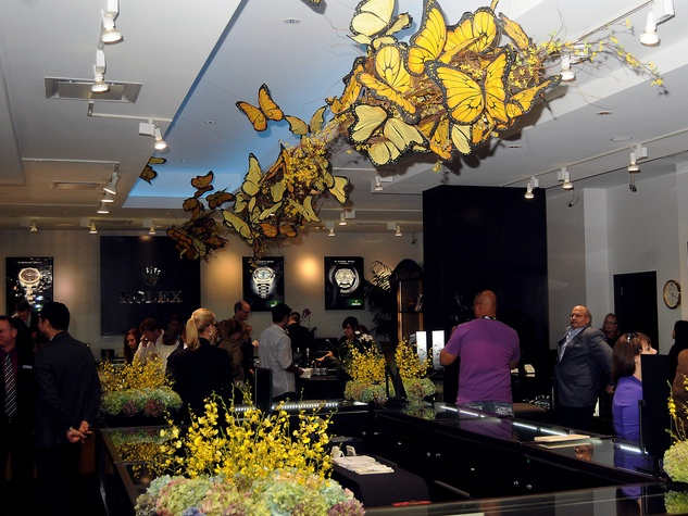 News_Holocaust Museum_Butterfly event_October 2011_crowd_venue