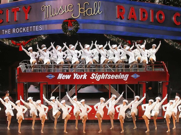 Gexa Energy Broadway at the Hobby Center series January 2014 Radio City Rockettes New York at Christmas
