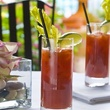 bloody mary's at Ristorante Cavour at Hotel Granduca