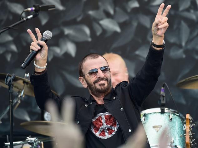 Ringo Starr At The International Peace Day Celebration John Varvatos In California