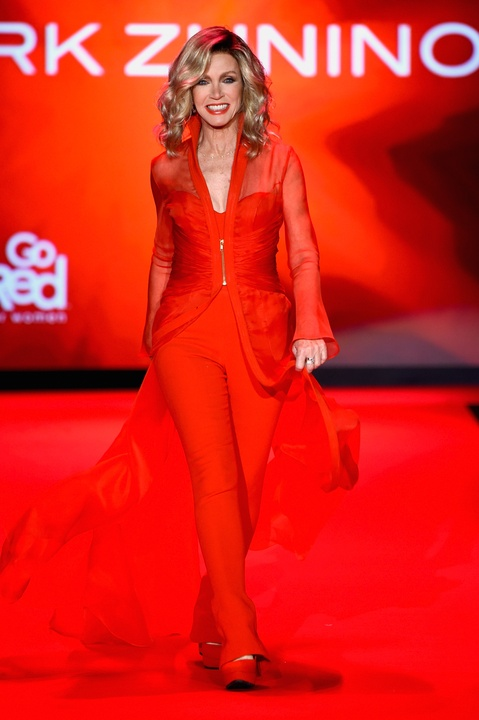 45 Clifford New York Fashion Week Fall 2015 Go Red for Women February 2015 Donna Mills
