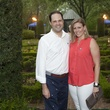 Martin Von Rosenberg and Carrie Worley at Bayou Bend's Bubbly on the Bend April 2014