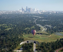 Memorial Park master plan March 2015 Houston Calling by Mir for Nelson Byrd Woltz land bridge and tunnels