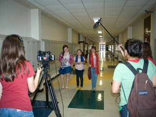 Austin Photo Set: News_Jessica Pages_Femme Film Texas_Dec 2011_filming
