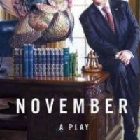 November, David Mamet, play, book cover