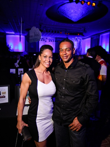 Carisha and Lee Washington at DREAMSCAPE The Orange Show's 32nd Annual Gala November 2013