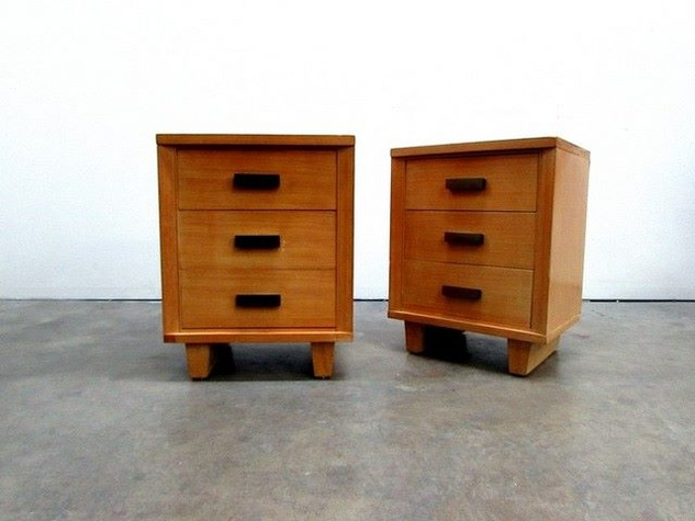 nightstands at antiques moderne in dallas