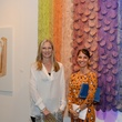 15 Mary Kay Hunt, left, and Daryl Hoover at the Texas Contemporary Art Fair VIP opening party October 2013