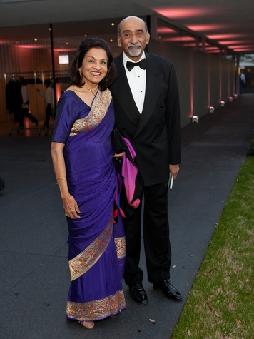 155 Monjula and Ravi Chidambaram at Tiger Ball March 2014
