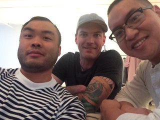 Paul Qui of Qui in Austin and Matt McAllister of FT33 in Dallas and Justin Yu of Oxheart in Houston