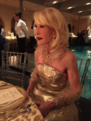 Van Cleef & Arpels party, April 2016, Diane Lokey Farb
