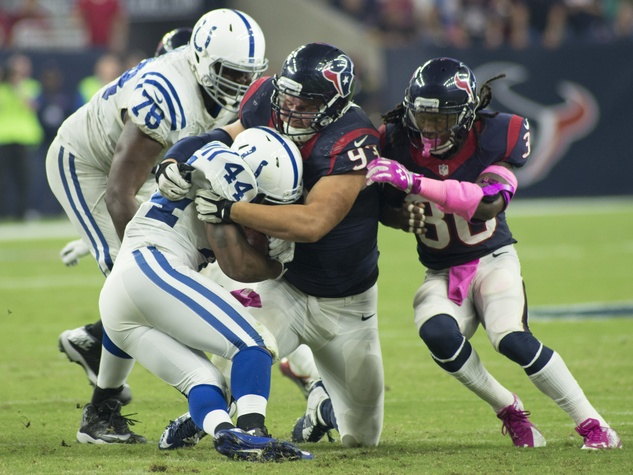 14 Texans vs. Colts October 2014 first half Colts 44 and Texans 93