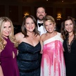 30 Katie Dillon, from left, Lauren Sorkin, Ron Zach and Jennifer Haikin Zach and Amira Staller at the Jewish Community Center Children's Scholarship Ball March 2015