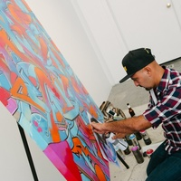 32 GONZO247 at Child Advocates Art Party November 2014