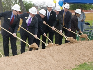 Groundbreaking for DART Rail Blue Line in Rowlett