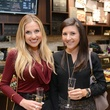 11b Katherine Whaley, left, and Jenna Beth Whaley at the Cacao & Cardamom party November 2014