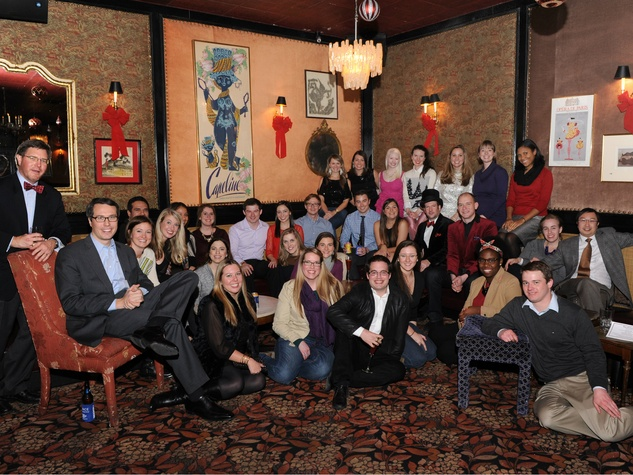 Group photo of DCAC Alliance, dcac holiday party
