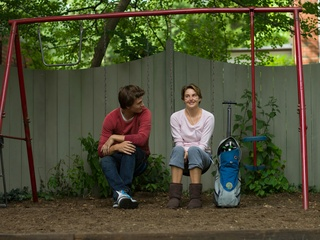 Ansel Elgort and Shailene Woodley in The Fault in Our Stars