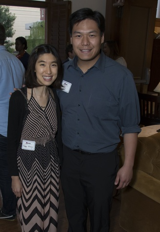 Peggy Chang, Jonas Chin, Alley Theatre young professionals, Sept. 2014