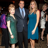 Tiger Ball kick-off party, January 2013, Margaret Alkek Williams, Dr. Devinder Bhatia, Gina Bhatia