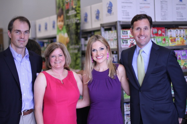 Houston, Kids Meals New Faciity Celebration, May 2015, Chase Robison, Cristina Vetrano, Katherine Whaley, Kyle Schuenemann