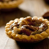 mini pecan pie Trio Austin