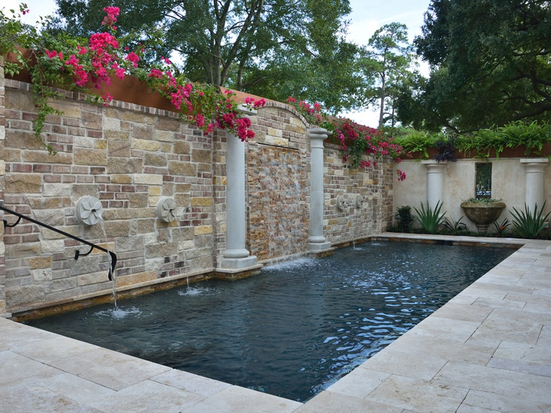 Home tour provides a unique look at an underrated houston for Garden oaks pool