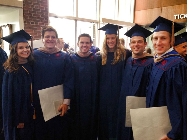 SMU Cox class of 2014 on graduation day