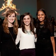 4 Rachel Fitzgerald, from left,Betsey Stukes and Nishi Kothari at the Menil Young Professionals party December 2013