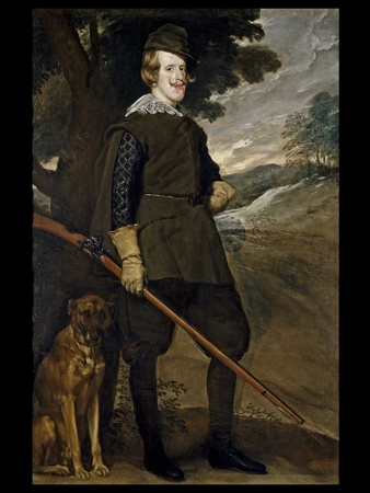 MFAH, Museo Nacional del Prado, July 2012, Veláquez - King Philip in Hunting Garb