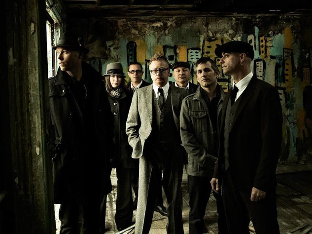 Celtic Irish punk band Flogging Molly
