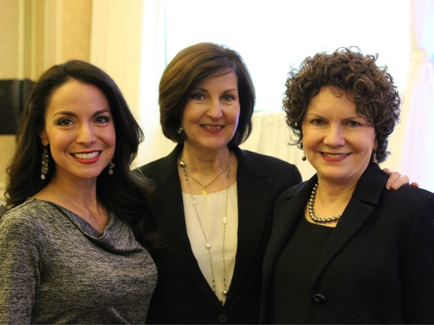 Natalie Solis, Gaynelle Henger and Gail McDonald, NM salutes United Way