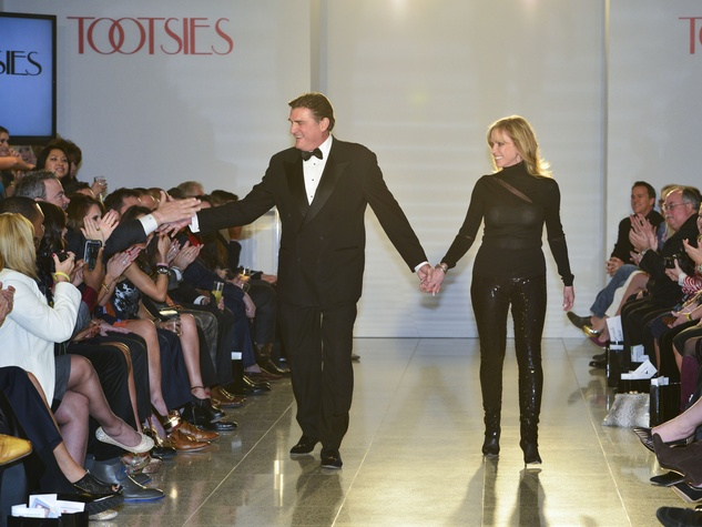 32 Dan Pastorini and Pam Morse at the Dec My Room Fashion Show February 2014
