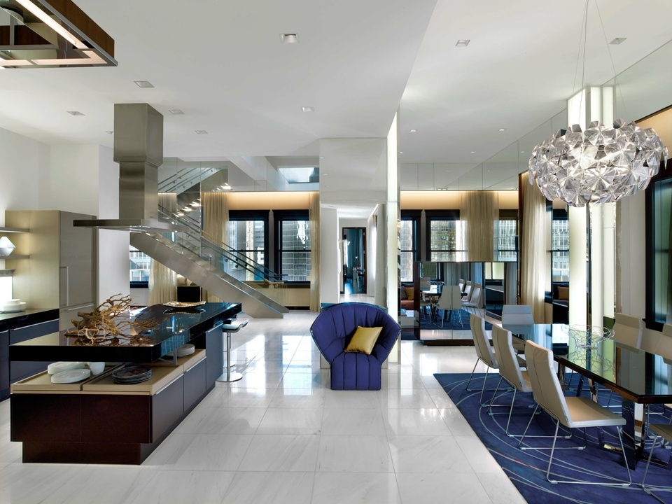 The Penthouse Suite at The Joule in Dallas