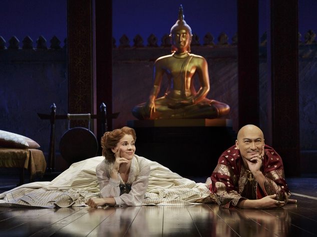 The King and I Broadway revival Ken Watanabe and Kelli O'Hara