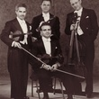 Houston Symphony String quartet: seated, Ray Fliegel; standing, Irving Wadler, Hank Hlavaty and Alfred Urbach