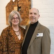 Cynthia and Bob Carr at Art on the Avenue November 2013
