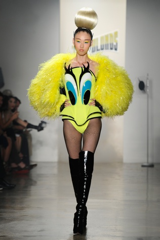 The Blonds, fashion week, September 2014