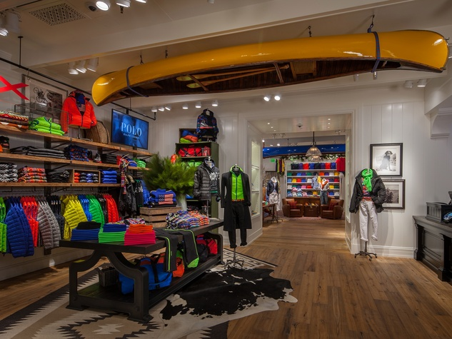 New Polo Ralph Lauren store in The Galleria men's collection