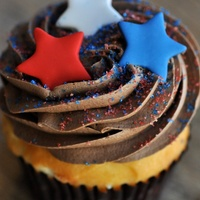Ooh La La, cupcake, stars, election day