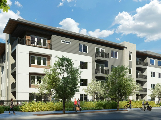 Alexan Henderson apartments and townhomes