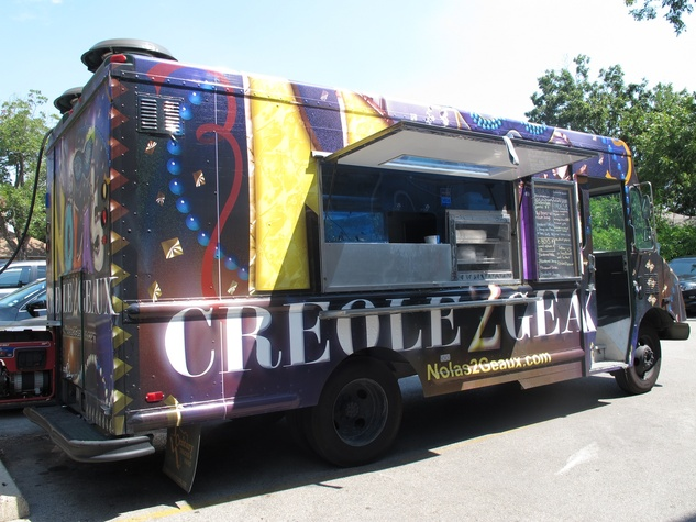 Ruthie, where to eat right now, September 2012, NOLA's Creole 2 Geaux, food truck