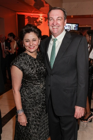 Beth Madison and Ralph Burch at the Medical Bridges Gala September 2014