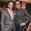 Jeff Shell, left, and Ceron at the Fashion Houston Launch Party October 2013