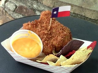 Fried King Ranch casserole at State Fair of Texas